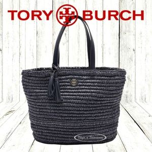 NWT Tory Burch Large Straw Tote Bag